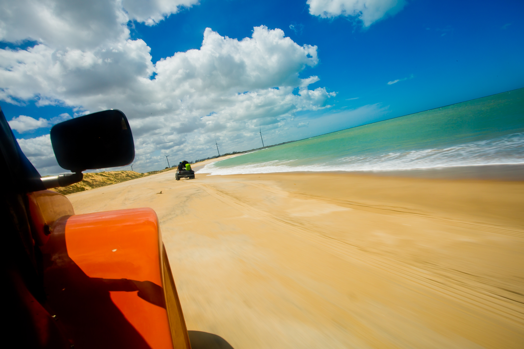 Boogy ride in the dunes of Sao Miguel do Gostoso